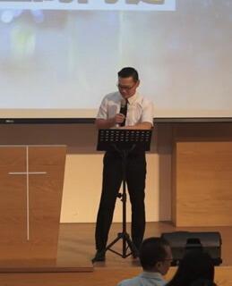 2019-10-13 主日信息-起來,作主的門徒  劉智銘 傳道